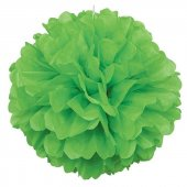 Decoration F.yeşili Puff 30 Cm 2 Adetli Kf 035
