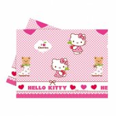 Hello Kitty Kalpler Plastik Masa Örtüsü 120x180 Cm