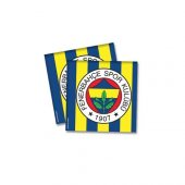 Fenerbahçe Desenli Kağıt Peçete 33x33 Cm