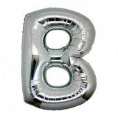 Folyo Balon Harf B Gümüş 40 Inc (Kkjy)