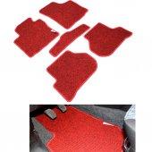 Mercedes Sel 300 Kırmızı Lüx Halı Paspas Seti