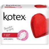 Kotex Ultra Kanatlı Uzun Hijyenik Ped 7 Adet