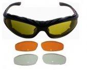 Tex G8006 Uv Yedek Camlı Ce Sertifikalı Motor Bisiklet Gözlük