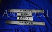 Renault Fluence Krom Kapı Eşiği 4 Parça