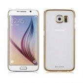 G Case Samsung Galaxy S6 Rubber Arka Kapak Kılıf Gold