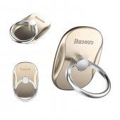 Baseus Ring Bracket Stand Yüzük Gold
