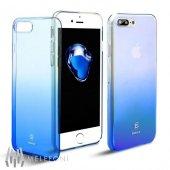 Baseus Glaze Mavi İphone 8 Plus Kılıf