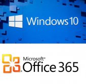 Windows 10 Pro & Microsoft Office 365 5 Kullanım 1 Tb Onedrive