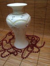 Ksv Obje Dekoratif Aksesuar Porselen Vazo