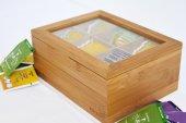 Bambum Misto Bitki Çayı Kutusu Çay Kabı16x21x9 Cm.