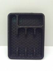Violet Plastik Raddan Çekmece İçi Kaşıklık 37x29 Cm.