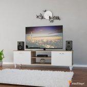 Modilayn Ard 601 Ardin Tv Ünitesi Alt Modül Cordoba Beyaz