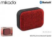Mikado Md Btx3 Kırmızı Bluetooth Speaker