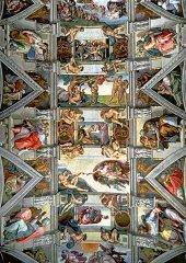 Trefl 6000 Parça Puzzle Sistina Şapeli Tavanı