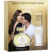 Antonio Banderas Her Golden Secret Edt 80 Ml Bayan Parfüm Seti