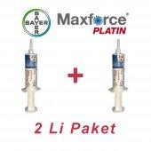 Maxforce Platin 20 Gr Hamam Böceği Jeli 2li Paket