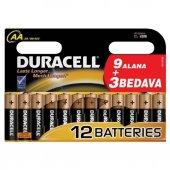Duracell Aa Kalem Pil (9+3) 12 Li Paket