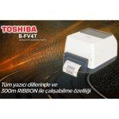 Toshiba B Fv4t Barkod Yazıcı Usb Lan 300mt