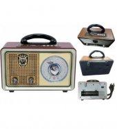 Meier M 110 Usb Sd Mp3 Bluetooth Şarjlı Nostaljik Radyo
