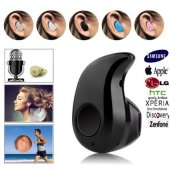 Süper Mini Siyah Bluetooth Kulaklık