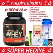 Optimum Nutrition Gold Standart Whey Protein 2270 Gr. 7 Hediye