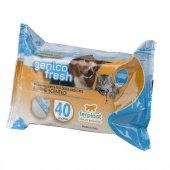 Ferplast Genico Fresh Ferahlatıcı Kedi Köpek Temizlik Mendili