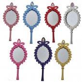 Ayna Oval Taşlı Plastik Renkli (20 Adet)