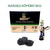Bio Briket Doğal Nargile Kömürü 5 Kg