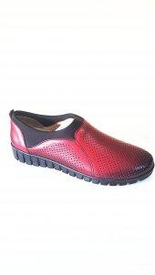 Acrow %100 Deri Confort Bayan Ayakkabı