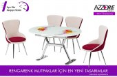 Mutfak Masa Sandalye Takımı Ornament Mutfak Masası Takımı