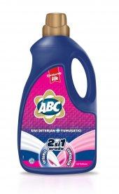 Abc Sıvı Deterjan+yumuşatıcı Gül Tutkusu 33 Yıkama