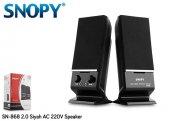 Snopy Sn 868 2.0 Siyah Ac 220v Speaker