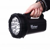 Watton Pro 15 Ledli Parlak Şarj Edilebilen El Feneri 250mt