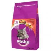 Whiskas Biftek Kuru Kedi Maması 3,8 Kg