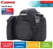 Canon Eos 6d Body Fotoğraf Makinesi (Canon Eurasia Garantili)