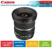 Canon 10 22mm F 3.5 4.5 Usm Lens (Canon Eurasia Garantili)