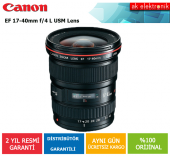Canon 17 40mm F 4l Usm Lens (Canon Eurasia Garantili)