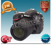 Nikon D7100 18 105mm Vr Kit Dijital Slr Fotoğraf Makinesi
