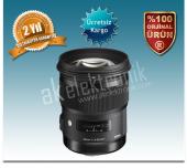 Sigma 50mm F 1.4 Dg Hsm Art Serisi Lens (Nikon Uyumlu)