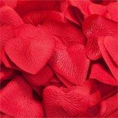 Beysüs Kırmızı Renk Kalp Konfeti 100 Lü