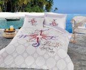 Cotton Box Ranforce Genç Desen Uyku Seti Tek Kişilik Voyage Lila