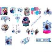 Beysüs Lisanslı Frozen Doğum Günü Full Set