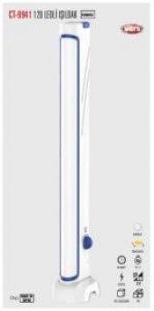 Cata Ct 9941 120 Ledli Şarjlı Dimmerli Işıldak Fener Beyaz Işık