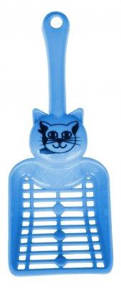 Percell Kedi Tuvaleti Küreği Mavi