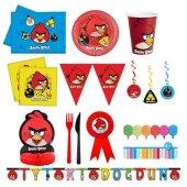 Angry Birds Doğum Günü Parti Seti 24 Kişilik Lüx