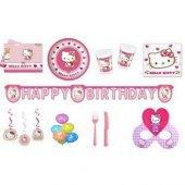Hello Kitty Doğum Günü Parti Seti 16 Kişilik