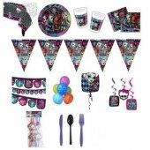 Monster High Doğum Günü Parti Seti 20 Kişilik