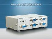 Hadron Hd217 Vga Splıtter 1 Giriş 4 Çıkış