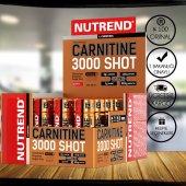 Nutrend L Carnitine Shot 3000mg 20 Ampül L Karnitin + 3 Hediye