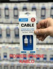 Rowen İphone 5 6 7 8 Plus Ve X Modellerine Uyumlu Şarj Data Kablosu